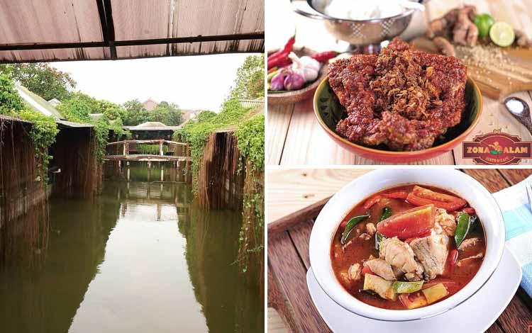 Tempat Makan atau Restoran Dengan Nuansa Alam Di Surabaya - Zona Alam Resto & Café