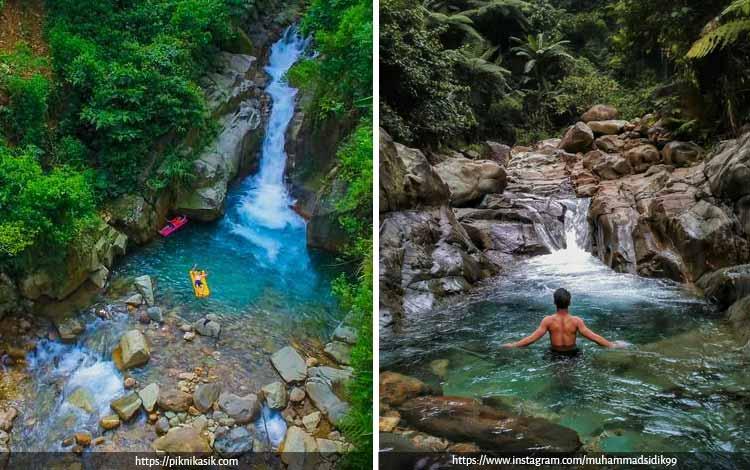 Tempat Wisata Terbaik di Bogor Yang Instagramable - Curug Cibaliung