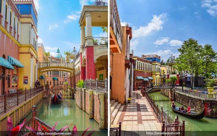 Tempat Wisata Terbaik di Bogor Yang Instagramable - Little Venice