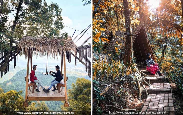 Tempat Wisata Terbaik di Bogor Yang Instagramable - Puncak Mustika Manik