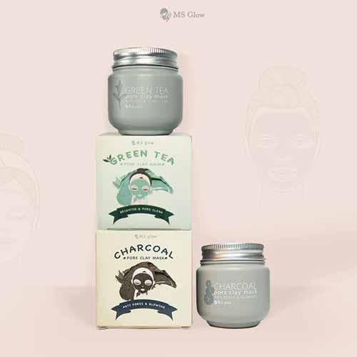 Aneka Produk Ms Glow Terbaru Lengkap Dengan Harganya - Ms Glow Clay Mask