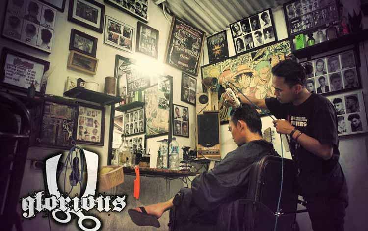 Barbershop Yang Bagus Di Bandung - Glorious Barbershop
