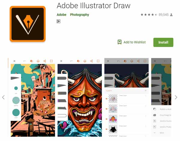 Daftar-Aplikasi-Menggambar-Terbaik-di-Android-Adobe-Illustrator-Draw