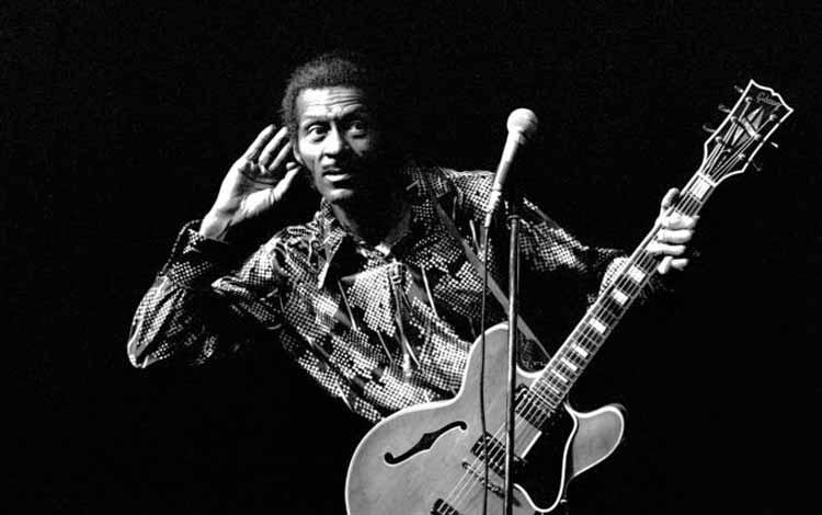 Gitaris Terbaik dan Terhebat Di Dunia Dengan Skill Tingkat Dewa - Chuck Berry
