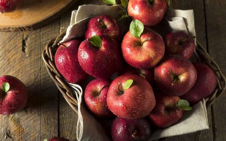 Makanan Yang Dapat Memutihkan Gigi Secara Alami - Apel