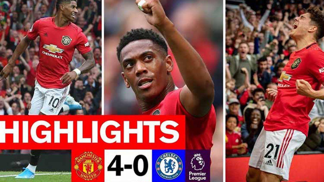 Manchester United Taklukkan Chelsea 4 0 Hasil Lengkap Liga
