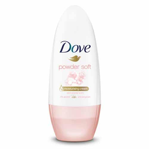 Merk Deodorant Terbaik Untuk Menghilangkan Bau Badan - Dove Powder Soft Antiperspirant Deodorant Roll On