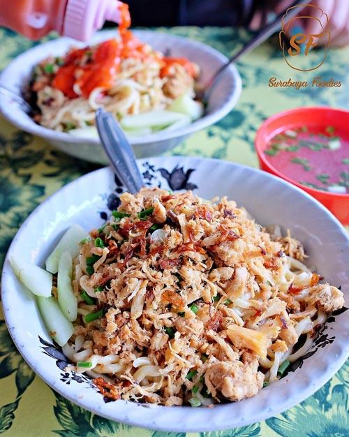 Mie Ayam Terenak Di Surabaya - Mie Ayam Tenda Biru