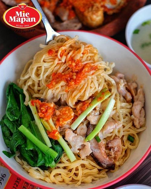 Mie Ayam Terenak Di Surabaya - Mie Mapan