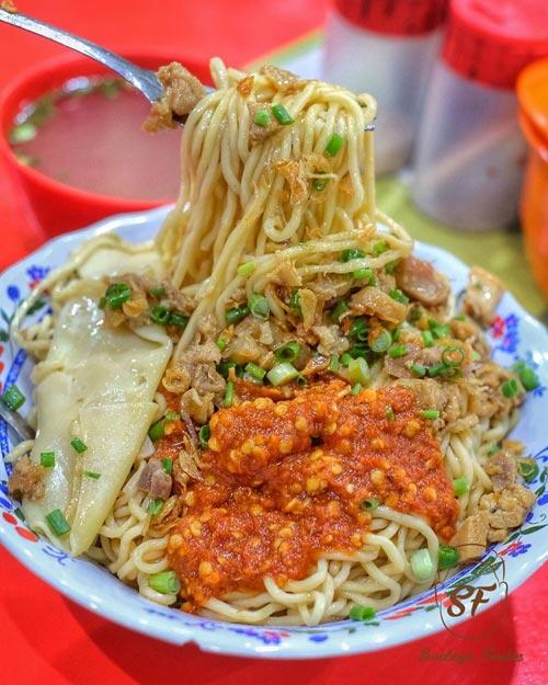 Mie Ayam Terenak Di Surabaya - Pangsit Mie Ayam Rizky