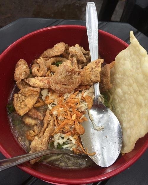 Mie Ayam Terenak di Bandung - Cwie Mie 87