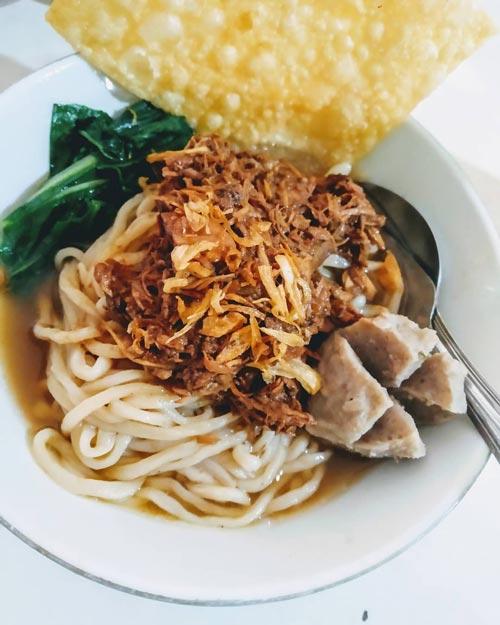 Mie Ayam Terenak di Bandung - Mie Ayam Pak Aip