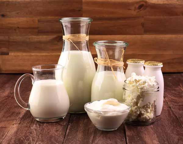 Rekomendasi Makanan Sehat Untuk Ibu Hamil - Produk susu