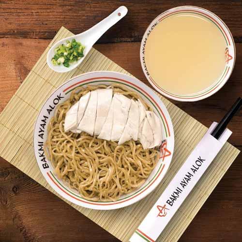 Rekomendasi Mie Ayam Terenak Di Jakarta - Bakmi Ayam Alok