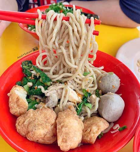 Rekomendasi Mie Ayam Terenak Di Jakarta - Bakmi Karet Foek