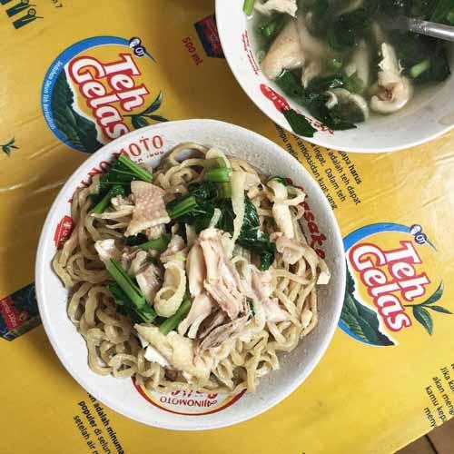 Rekomendasi Mie Ayam Terenak Di Jakarta - Mie Ayam Acing