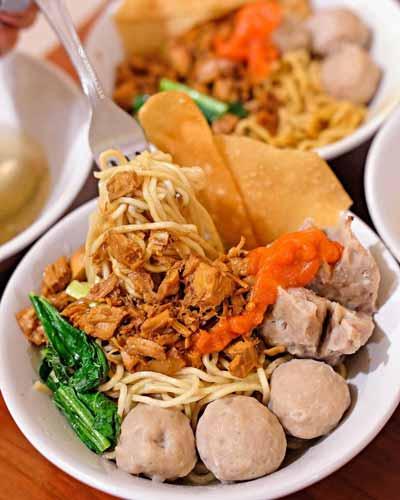 Rekomendasi Mie Ayam Terenak Di Jakarta - Mie Ayam Bakso Yunus