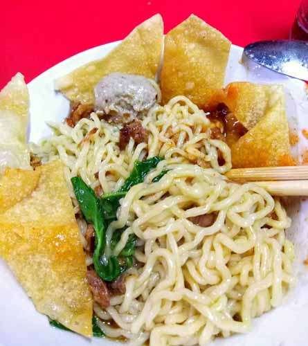 Rekomendasi Mie Ayam Terenak Di Jakarta - Mie Ayam Baso Dondon