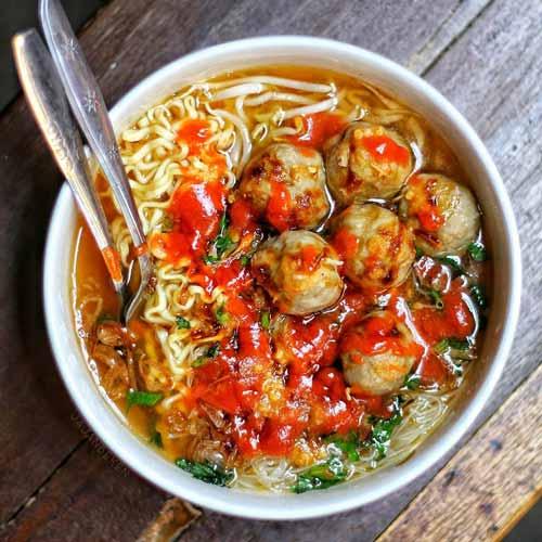 Rekomendasi Mie Ayam Terenak Di Jakarta - Mie Keriting Luwes
