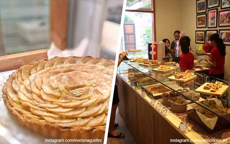 Toko kue terbaik di Jakarta - Passionnee Bread and Pastry