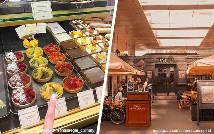 Toko kue terbaik di Jakarta - Paul Bakery and Patisserie