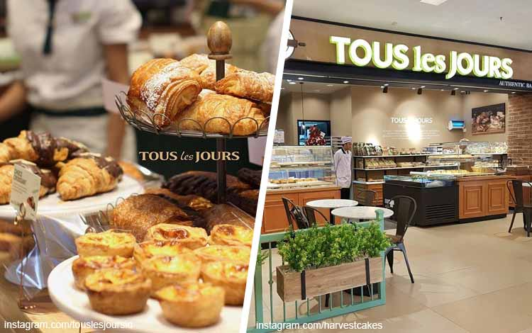 Toko kue terbaik di Jakarta - Tous Les Jours
