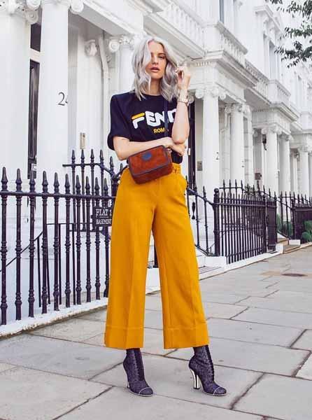 Aneka Jenis Bawahan Wanita Yang Trendi Yang Bisa Kamu Coba - Culotte pants