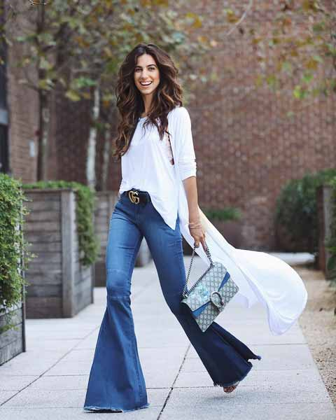 Aneka Jenis Bawahan Wanita Yang Trendi Yang Bisa Kamu Coba - Flare pants