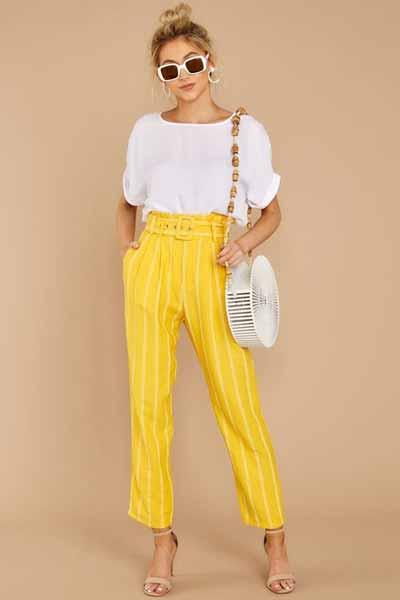 Aneka Jenis Bawahan Wanita Yang Trendi Yang Bisa Kamu Coba - High waisted pants