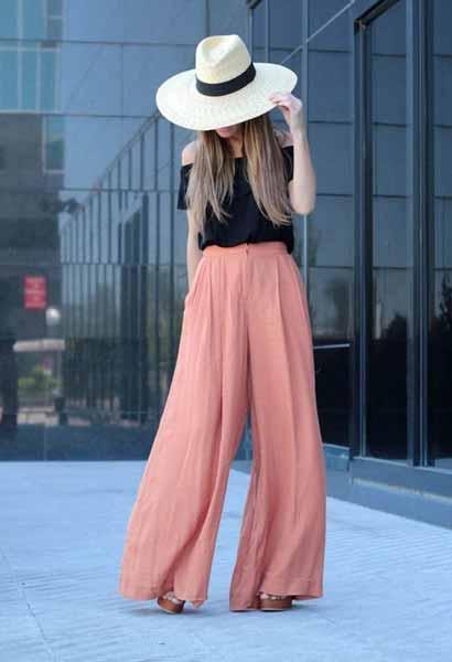 Aneka Jenis Bawahan Wanita Yang Trendi Yang Bisa Kamu Coba - Palazzo pants