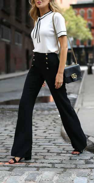Aneka Jenis Bawahan Wanita Yang Trendi Yang Bisa Kamu Coba - Sailor pants