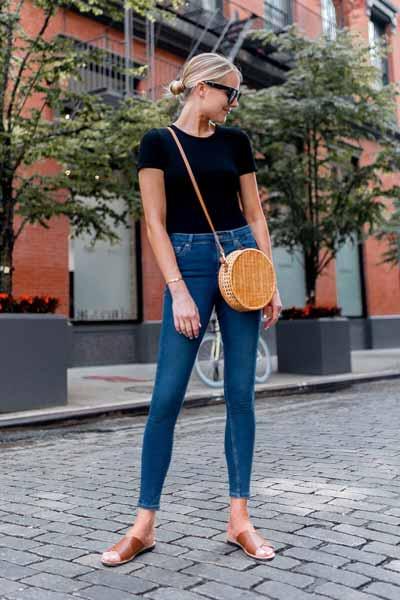 Aneka Jenis Bawahan Wanita Yang Trendi Yang Bisa Kamu Coba - Skinny jeans