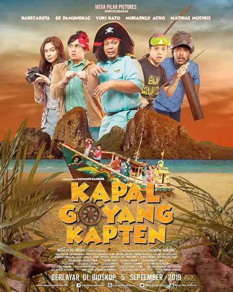 Film bioskop September 2019 - Kapal Goyang Kapten