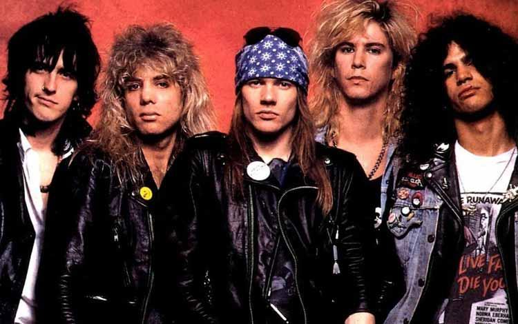Daftar Band Rock Barat Yang Terbaik Dan Terpopuler Sepanjang Masa - Guns N' Roses
