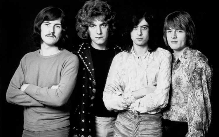 Daftar Band Rock Barat Yang Terbaik Dan Terpopuler Sepanjang Masa - Led Zeppelin