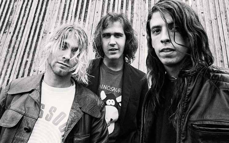 Daftar Band Rock Barat Yang Terbaik Dan Terpopuler Sepanjang Masa - Nirvana