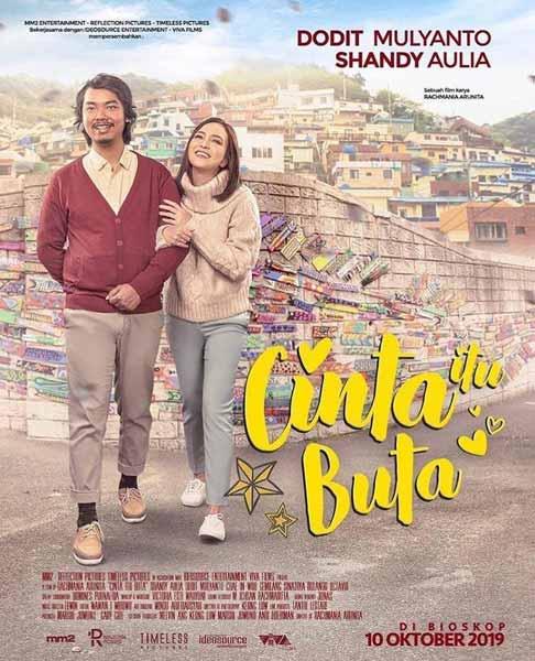 Film Bioskop Oktober 2019 - Cinta Itu Buta