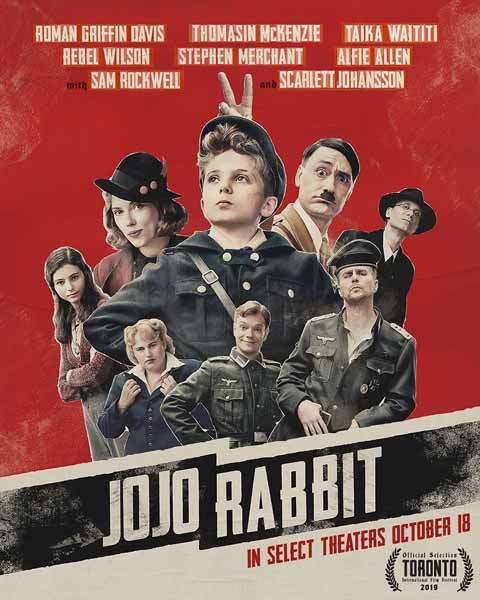 Film Bioskop Oktober 2019 - Jojo Rabbit