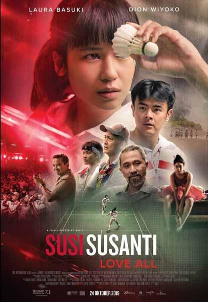 Film Bioskop Oktober 2019 - Susi Susanti Love All