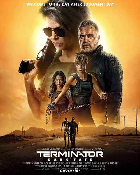 Film Bioskop Oktober 2019 - Terminator: Dark Fate