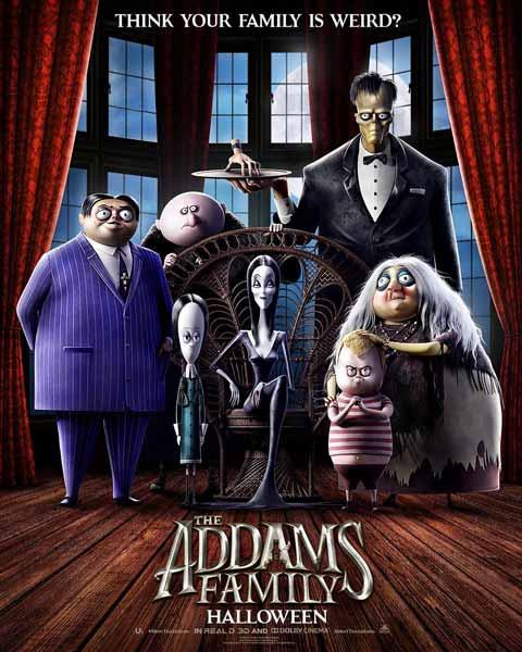 Film Bioskop Oktober 2019 - The Addams Family