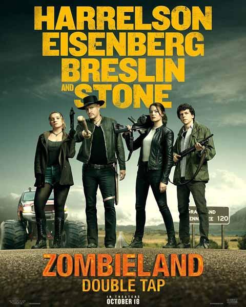 Film Bioskop Oktober 2019 - Zombieland Double Tap