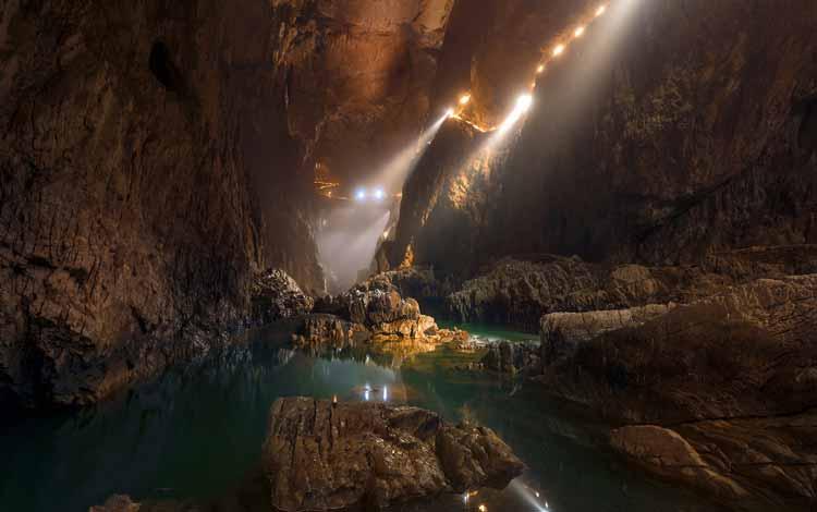 Goa Menakjubkan Di Dunia - Skocjan Cave