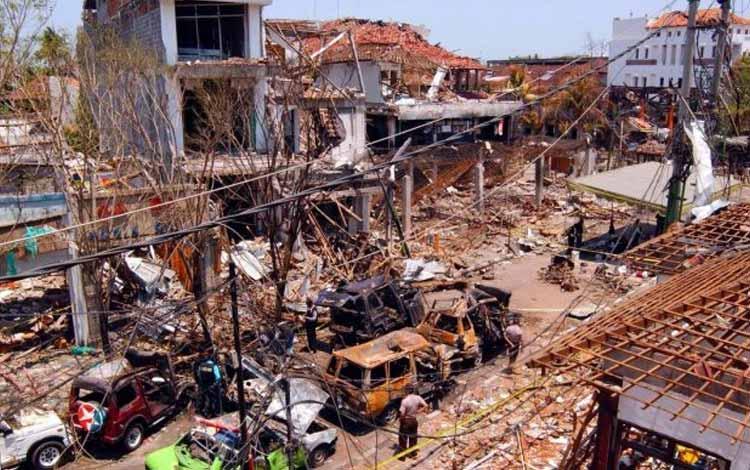 Peristiwa-pertistiwa Penting Yang Tejadi Di Bulan Oktober - Bom Bali 2005