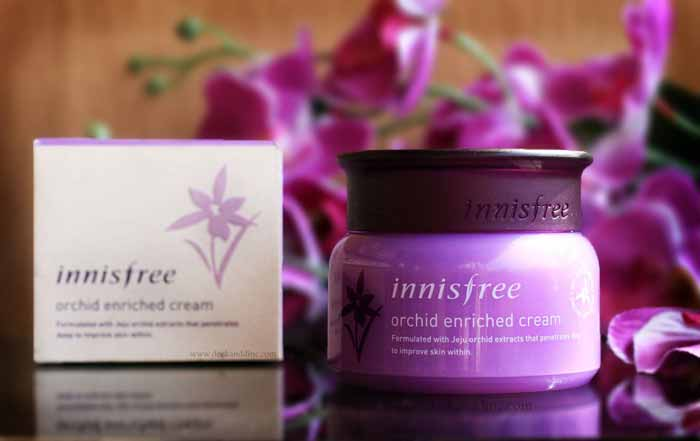 Produk anti aging terbaik - Innisfree Orchid Enriched Cream