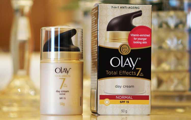 Produk Anti Aging Terbaik - Olay Total Effects 7 in One Day Cream Normal SPF 15