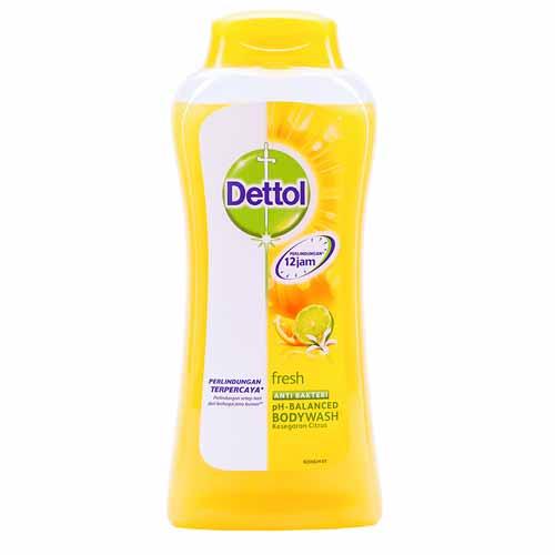 Sabun Cair Yang Bagus Untuk Kesehatan Kulit - Dettol Fresh Anti-Bakteri