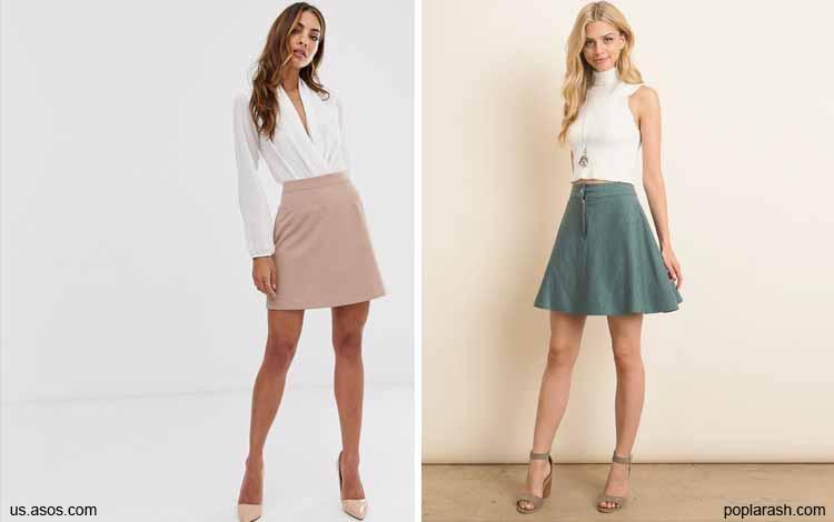 Tampil Fashionable Dengan Rok Mini - Mini A-line skirt