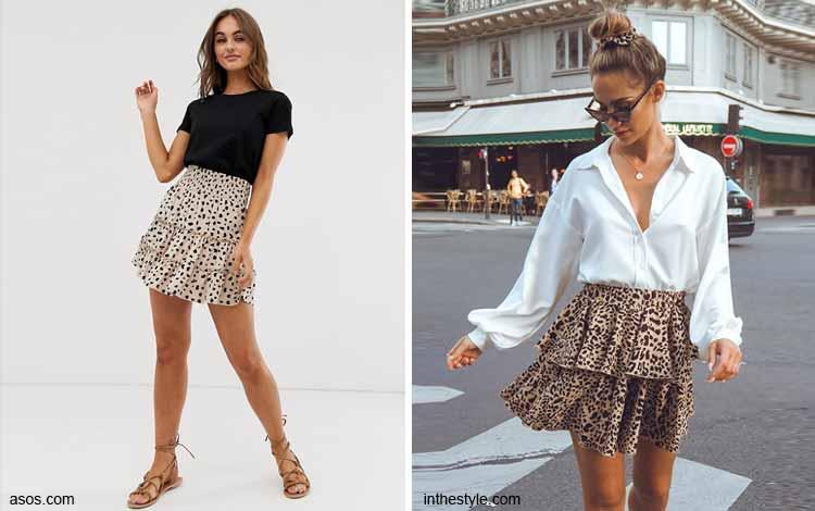 Tampil Fashionable Dengan Rok Mini - Mini tiered-layered skirt