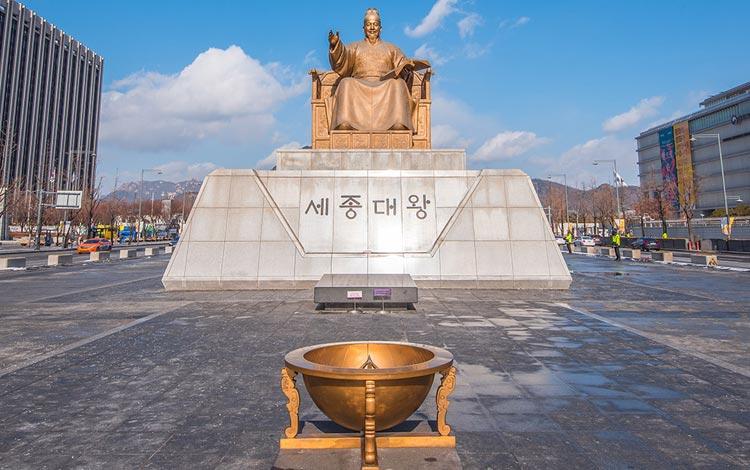Tempat wisata terpopuler di Korea Selatan - Gwanghwamun Square